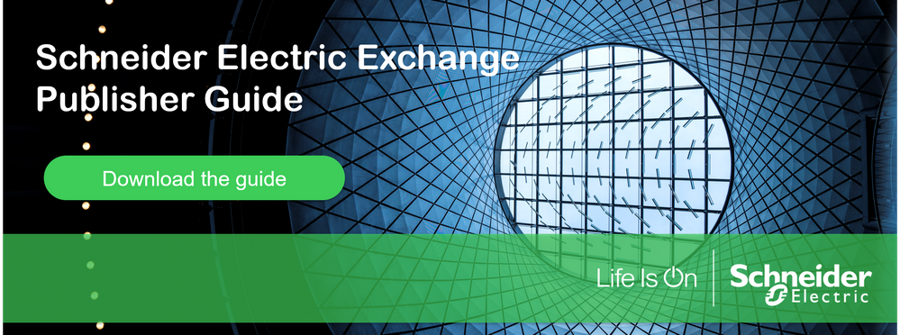 Schneider Electric Exchange - Publisher guide.png